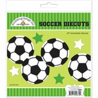 Doodlebug Design - Goal Collection - Die Cuts Craft Kit - Soccer