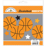 Doodlebug Design - Slam Dunk Collection - Die Cuts Craft Kit - Basketball