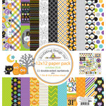 Doodlebug Design - October 31st Collection - Halloween - 12 x 12 Paper Pack