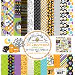 Doodlebug Design - October 31st Collection - Halloween - 12 x 12 Paper Pack