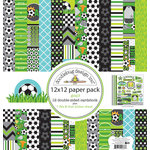 Doodlebug Design - Goal Collection - 12 x 12 Paper Pack