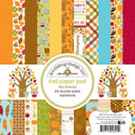 Doodlebug Design - Fall Friends Collection - 6 x 6 Paper Pad