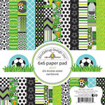 Doodlebug Design - Goal Collection - 6 x 6 Paper Pad