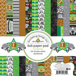 Doodlebug Design - Touchdown Collection - 6 x 6 Paper Pad