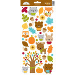 Doodlebug Design - Fall Friends Collection - Cardstock Stickers - Icons