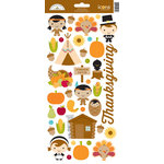 Doodlebug Design - Fall Friends Collection - Cardstock Stickers - Give Thanks