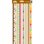 Doodlebug Design - Fall Friends Collection - Cardstock Stickers - Fancy Frills