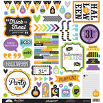 Doodlebug Design - October 31st Collection - Halloween - 12 x 12 Cardstock Stickers - This and That