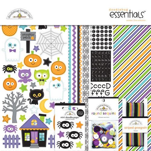 Doodlebug Design - October 31st Collection - Halloween - Essentials Kit