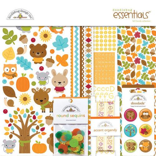 Doodlebug Design - Fall Friends Collection - Essentials Kit