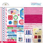 Doodlebug Design - Home Run Collection - Essentials Kit