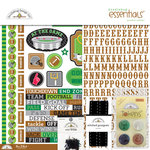 Doodlebug Design - Touchdown Collection - Essentials Kit
