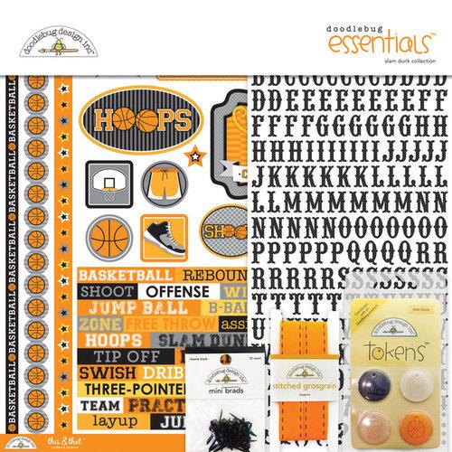 Doodlebug Design - Slam Dunk Collection - Essentials Kit