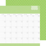 Doodlebug Design - Daily Doodles Collection - 12 x 12 Double Sided Paper - Limeade