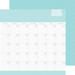 Doodlebug Design - Daily Doodles Collection - 12 x 12 Double Sided Paper - Swimming Pool