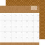 Doodlebug Design - Daily Doodles Collection - 12 x 12 Double Sided Paper - Bon Bon
