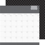 Doodlebug Design - Daily Doodles Collection - 12 x 12 Double Sided Paper - Beetle Black