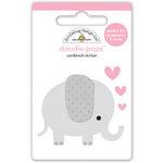 Doodlebug Design - Sweet Things Collection - Doodle-Pops - 3 Dimensional Cardstock Stickers - Ellie