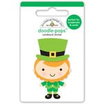 Doodlebug Design - Pot O Gold Collection - Doodle-Pops - 3 Dimensional Cardstock Stickers - Little Leprechaun