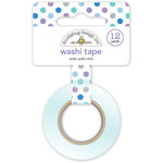 Doodlebug Design - Polar Pals Collection - Washi Tape - Polar Polka Dots