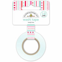 Doodlebug Design - Sweet Things Collection - Washi Tape - Lovely Lines