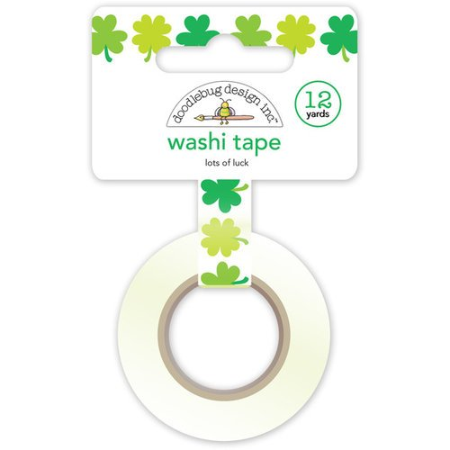 Doodlebug Design - Pot O Gold Collection - Washi Tape - Lots of Luck