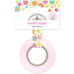 Doodlebug Design - Washi Tape - Bright Blossoms