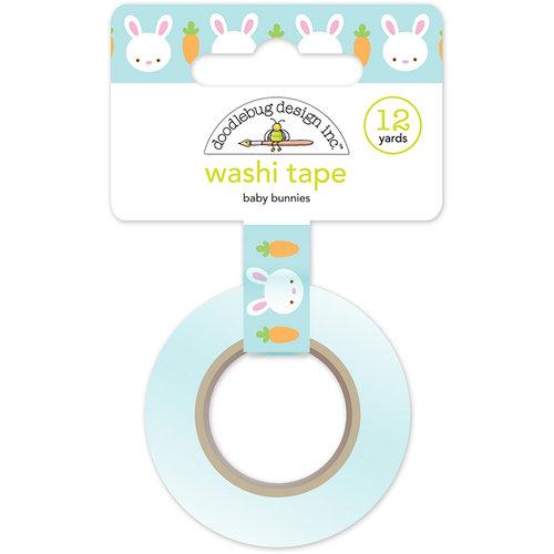 Doodlebug Design - Bunnyville Collection - Washi Tape - Baby Bunnies