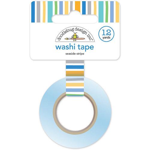 Doodlebug Design - Dragon Tails Collection - Washi Tape - Seaside Stripe