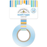 Doodlebug Design - Dragon Tails Collection - Washi Tape - Seaside Stripe