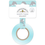 Doodlebug Design - Anchors Aweigh Collection - Washi Tape - Dashing Dolphins