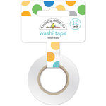 Doodlebug Design - Anchors Aweigh Collection - Washi Tape - Beach Balls