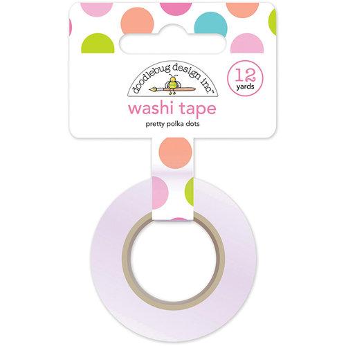 Doodlebug Design - Fairy Tales Collection - Washi Tape - Pretty Polka Dots