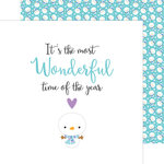 Doodlebug Design - Polar Pals Collection - 12 x 12 Double Sided Paper - Silly Snowmen