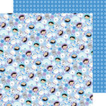 Doodlebug Design - Polar Pals Collection - 12 x 12 Double Sided Paper - Polar Pals