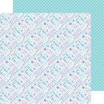 Doodlebug Design - Polar Pals Collection - 12 x 12 Double Sided Paper - Winter Whimsy