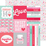 Doodlebug Design - Sweet Things Collection - 12 x 12 Double Sided Paper - Sweet Nothings