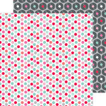 Doodlebug Design - Sweet Things Collection - 12 x 12 Double Sided Paper - Sugar Dots