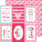 Doodlebug Design - Sweet Things Collection - 12 x 12 Double Sided Paper - Love Blooms