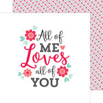 Doodlebug Design - Sweet Things Collection - 12 x 12 Double Sided Paper - Baby Bouquet