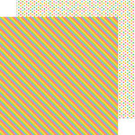 Doodlebug Design - Pot O Gold Collection - 12 x 12 Double Sided Paper - Rainbows End