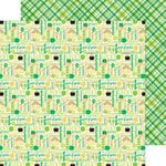 Doodlebug Design - Pot O Gold Collection - 12 x 12 Double Sided Paper - Good Luck