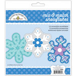 Doodlebug Design - Polar Pals Collection - Craft Kit - Snowflakes