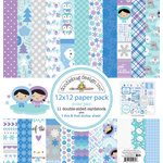 Doodlebug Design - Polar Pals Collection - 12 x 12 Paper Pack
