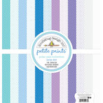 Doodlebug Design - Polar Pals Collection - 12 x 12 Paper Pack - Swiss Dot Petite Print Assortment