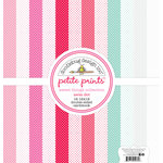 Doodlebug Design - Sweet Things Collection - 12 x 12 Paper Pack - Swiss Dot Petite Print Assortment