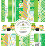 Doodlebug Design - Pot O Gold Collection - 12 x 12 Paper Pack