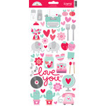 Doodlebug Design - Sweet Things Collection - Cardstock Stickers - Icons