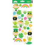 Doodlebug Design - Pot O Gold Collection - Cardstock Stickers - Icons