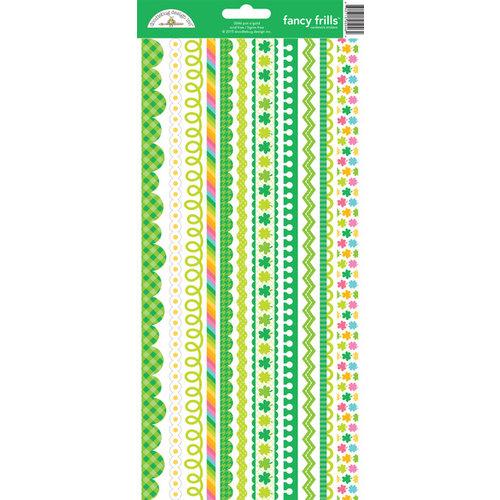 Doodlebug Design - Pot O Gold Collection - Cardstock Stickers - Fancy Frills